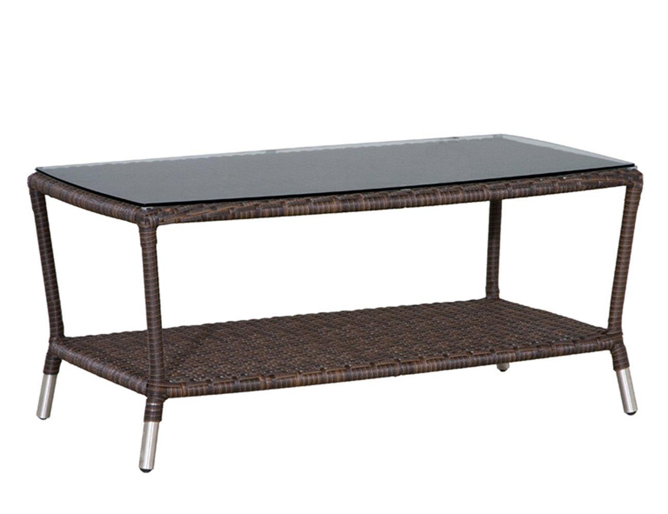Siena Garden 104846 Tisch Malibu,Klarglasplatte, L 98 x B 56 x H 44,5 cm bestellen