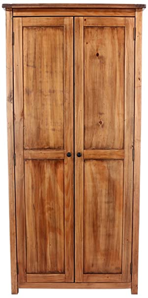 Core Products DN580 Two Door Wardrobe, Aged Antique Finish