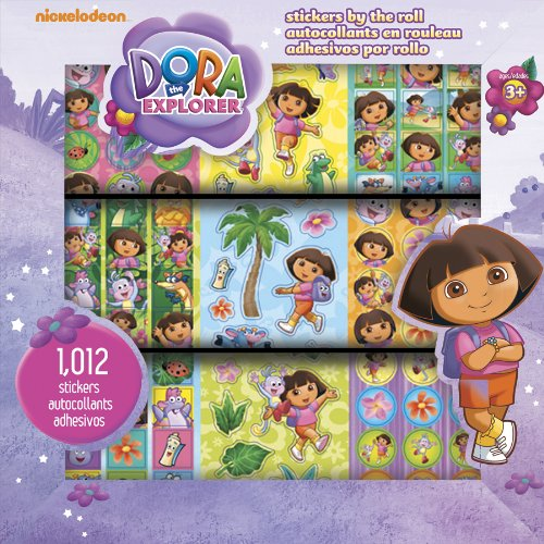 Dora the Explorer Stickers by the Roll - 1