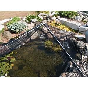 Pondshelter pond net patio lawn garden for Garden pond amazon