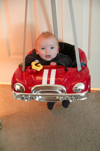 Why Choose Evenflo Jump Amp Go Baby Exerciser Red Racer