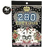 Tatuajes Temporales estílo M3 280 tatuajes.