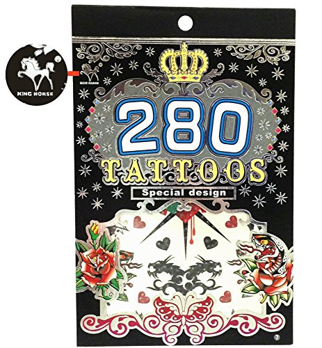 280 Temporary Tattoos - M3 Style