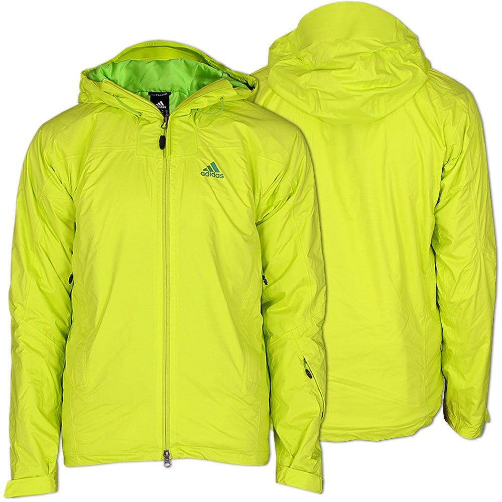 Adidas Winterjacke Skijacke Jacke TS 2L CPS PAD JKT lablime-steelgreen