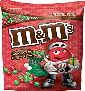 M&M's Milk Chocolate Candies for the Holidays, 42-Ounce