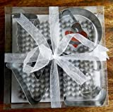 Love Letter Cookie Cutters Gift Box Cute Valentine's Day Set By Hinterland Trading