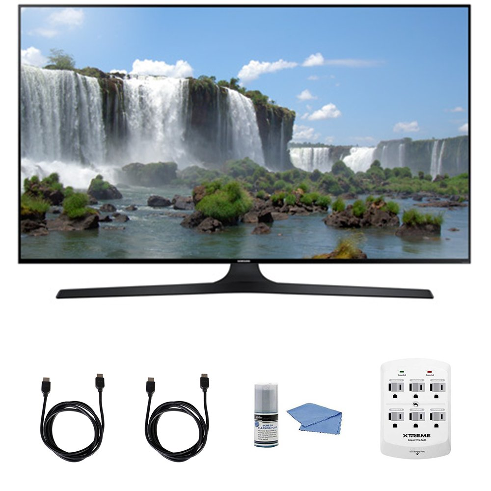 Samsung UN50J6300 - 50-Inch Full HD 1080p 120hz Slim Smart LED HDTV + Hookup Kit - Includes TV, HDMI to HDMI Cable 6