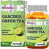 St.Botanica Garcinia Green Tea (Garcinia Cambogia + Green Tea) - 90 Veg Caps