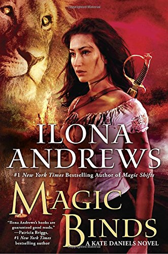Magic Binds (Kate Daniels) cover