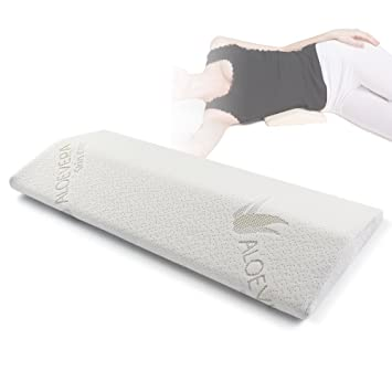 soft memory foam sleeping pillow for lower back lumbar support cushion for hip