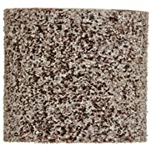 "Scotch-Brite Cut and Polish Unitized Wheel, Aluminum Oxide, 1"" Diameter x 1"" Width, 5A Fine Grit, 35100 rpm, 3/16"" Arbor (Pack of 50)"
