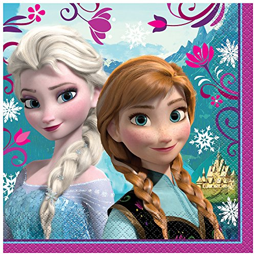 Great Features Of Disney Frozen Luncheon Napkins, 16ct