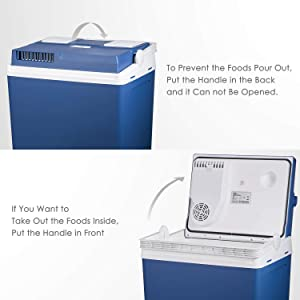 Mini Fridge Electric Cooler and Warmer for Car and Home