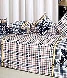 Ab Home Decor 100% Cotton Beautiful Diwan Sets ( Set Of 8 Pieces )
