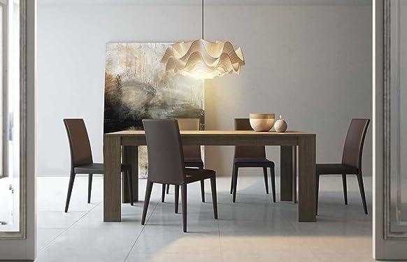 Tavolo da pranzo modello MAX colore Olmo Eclisse cm L140