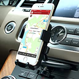 Car mount,Patea CD Slot Smartphone Car Mount Holder Cradle for All iPhone ,GPS Device And Android Devices