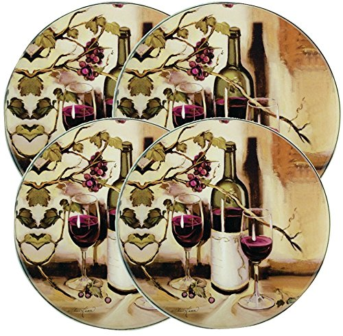 Round Burner Kovers Ripe From The Vine [2 Pieces] *** Product Description: Round Burner Kovers (Ripe From The Vine)Add A Little Vino In The Kitchen With Range Kleen(R)! These Classy Burner Covers Are Perfect For Enhancing Your Stove'S Appearance. *** front-620306