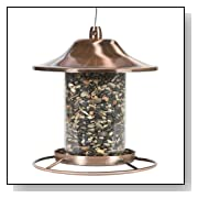 Perky Pet 312C Panorama Bird Feeder Copper