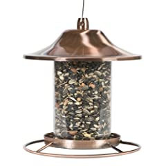 Perky-Pet 312C Panorama Bird Feeder, Copper