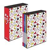 ナカバヤシ ディズニー 5冊BOXポケットアルバム L判270枚収納 大人ディズニー(パーツ) ア-PL-270-17
