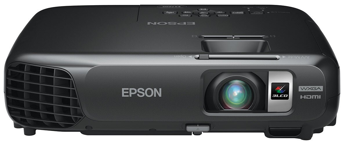 Epson EX7220 Wireless WXGA 3LCD Projector, 3000 Color Lumens, 3000 White Lumens