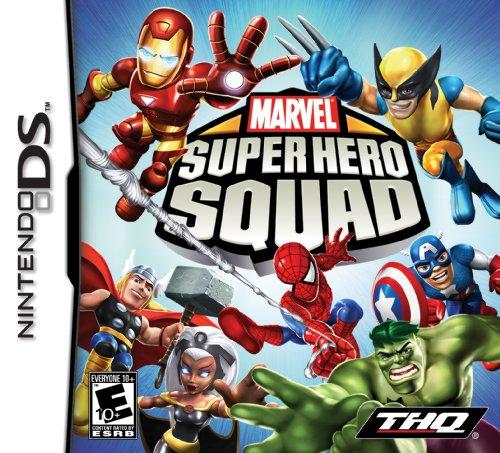 Marvel Super Hero Squad - Nintendo Ds front-879551