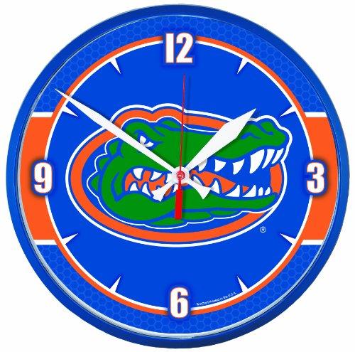 NCAA Florida Gators Round Clock