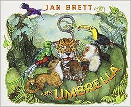 The Umbrella: board book: Jan Brett: 9780399255403: Amazon.com: Books
