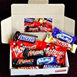 The Mars, Twix, Milkyway, Malteasers & Snickers Fun Box - Birthday, Thank you Gift Idea, Father's Day, Parties - By Moreton Gifts