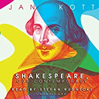 Shakespeare, Our Contemporary (       UNABRIDGED) by Jan Kott Narrated by Stefan Rudnicki