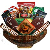 Art of Appreciation Gift Baskets Gourmet Food Goodies and Snack Gift Basket, Football Fanatic