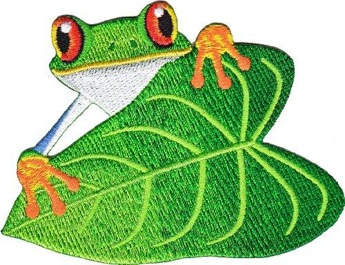 Application Frog on Leaf Patch