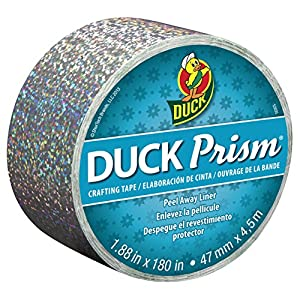 Duck Brand Prism Crafting Tape, 1.88-Inch x 5-Yard Roll, Lots of Dots (281622)