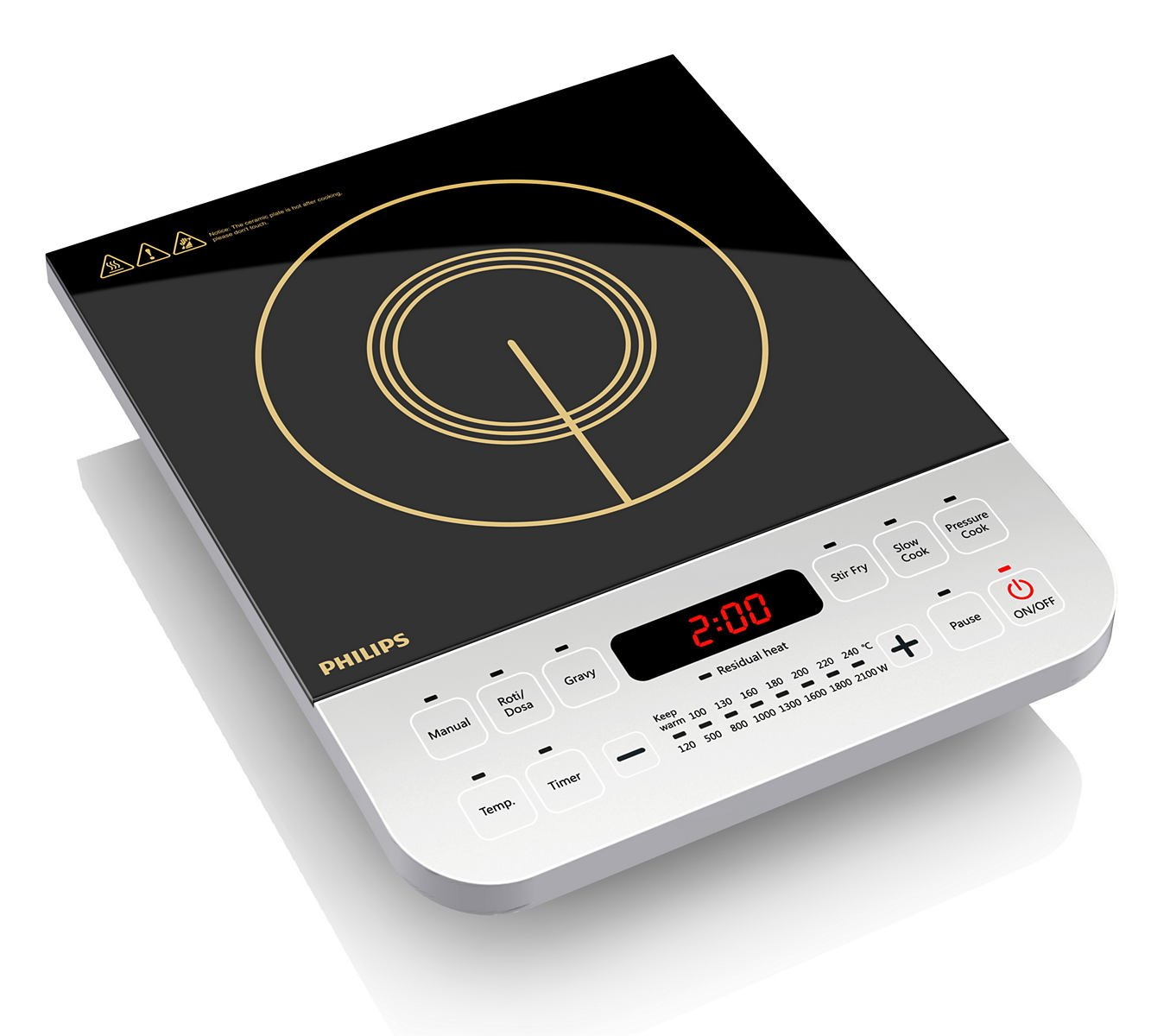 Induction oven