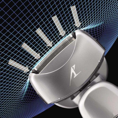 Panasonic 松下 ES-LA63-S 电动剃须刀(干湿两用,双马达4刀头)美国亚马逊