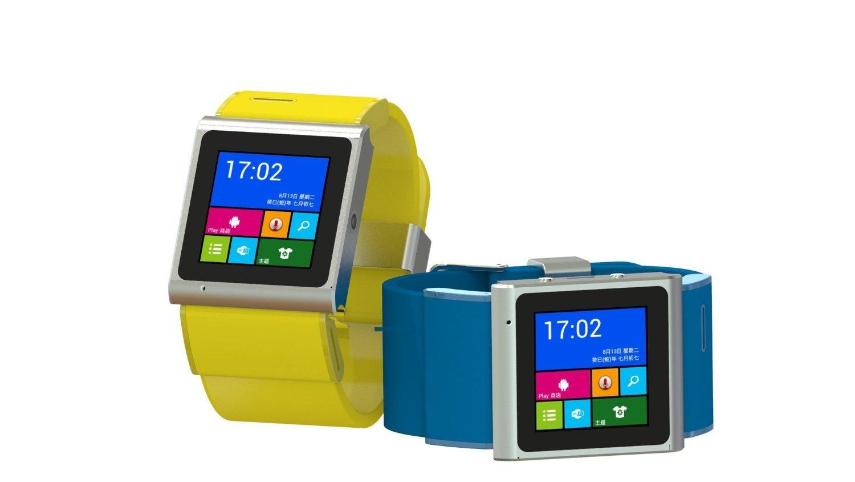 EC309 Smartwatch Phone Android 4.0 Watch phones 3G Watch Phone 5.0M Camera - Wifi - GPS (Yellow)