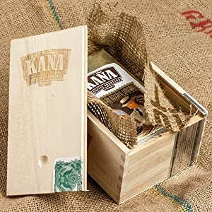 Kana Reserva Cuban-Style Coffee in Wooden Gift Box (12 ounce)