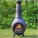 Outdoor-Chimenea-Fireplace-Sun-in-Charcoal-Finish-Without-Gas