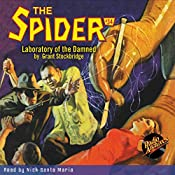 Spider #34, July 1936 | Grant Stockbridge,  RadioArchives.com