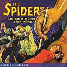 Spider #34, July 1936 Audiobook by Grant Stockbridge,  RadioArchives.com Narrated by Nick Santa Maria