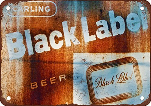 rusty-carling-black-label-beer-vintage-look-reproduction-metal-tin-sign-7x10-inches