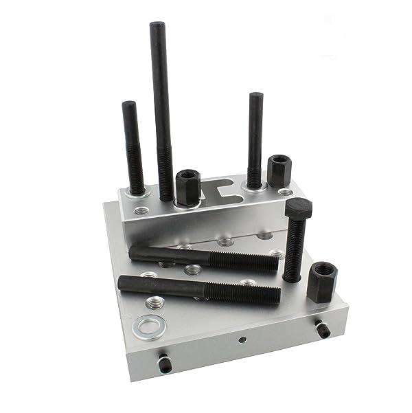 8MILELAKE Universal Press Support Block Plate Tool 30 Ton Bearing Bush Car Repair Tool Set
