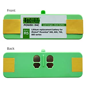 Lithium Roomba Replacement Battery For iRobot Roomba 500, 600, 700 and 800 Series, 4400 mAH