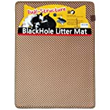"Blackhole Cat Litter Mat - Beige Super Size Rectangular 30"" X 23"" (Beige)"