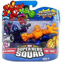 Marvel Superhero Squad Series 11 Mini 3 Inch Figure 2-Pack Kang The Conqueror And The Thing