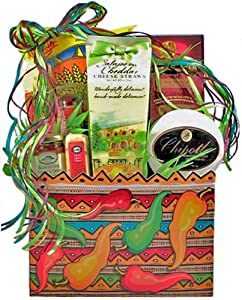 Spicy Gourmet Snack Food Gift Basket by Florida Gift Baskets