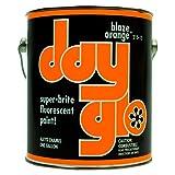 DayGlo Fluorescent Solvent-Based 215 Series Brushing Enamel Paint (Gallon, Blaze Orange, 215-15) (Color: Blaze Orange, Tamaño: Gallon)