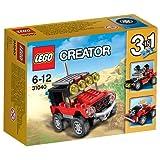レゴ (LEGO) クリエイター 砂漠のオフロードカー 31040