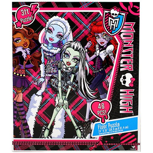 Monster High Doll Character 46 Piece Floor Puzzle