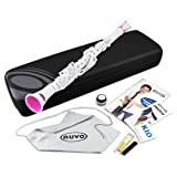 Nuvo N100CLPK Clarineo Kit with Case & Accessories, White/Pink